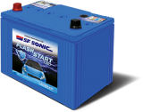 SF Sonic Flash Start - FS1080-DIN60 60AH Battery